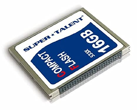Super Talent Technology CF 16GB 533X NAND memoria flash ...