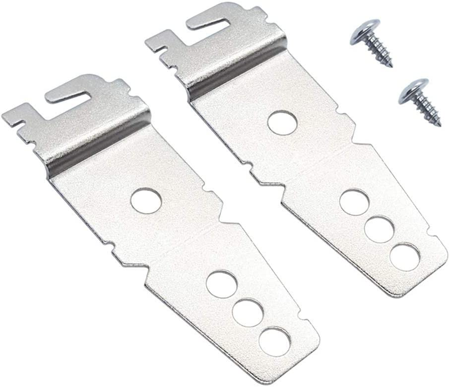 Mounting Bracket For 8269145 Replacement part by Exact Fit Kenmore Whirlpool KitchenAid Dishwasher - Replaces 8269145 WP8269145VP - PACK OF 2