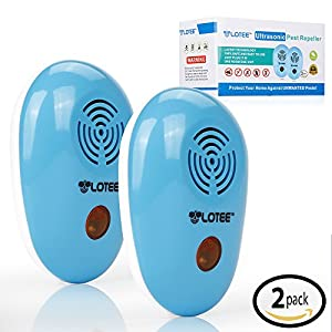 Pest Repeller for Repelling Rodent and Insect - Electronic Plug In Ultrasonic Pest Repellent - Best Pest Control Product for Home Indoor