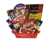 Baseball Gift Basket | Support the Team | Sweet and Salty Snacks | Softball Gift Basket