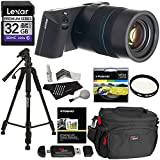 "LYTRO ILLUM 40 Megaray Light Field Camera Constant F/2.0 8X Optical Zoom Touchscreen LCD + Lexar 32GB SDXC + Polaroid 57"" Tripod + Filter + Screen Protector + Card Reader + Ritz Gear Bag Cleaning Kit"