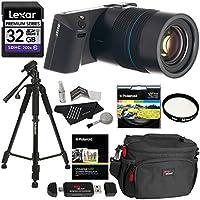 LYTRO ILLUM 40 Megaray Light Field Camera Constant F/2.0 8X Optical Zoom Touchscreen LCD + Lexar 32GB SDXC + Polaroid 57