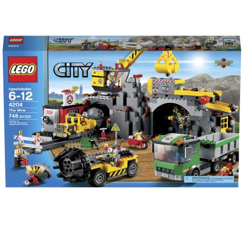 LEGO City 4204 The Mine (Discontinued by manufacturer) (City Lego Crane Building)