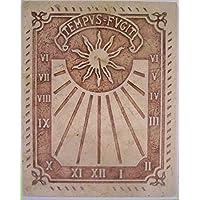 Art-Greus Reloj de Sol en Marmol Crema o