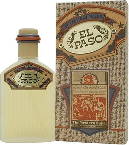 Lomani Citrus Cologne - El Paso By Lomani For Men. Eau De Toilette Spray 3.4 Ounces
