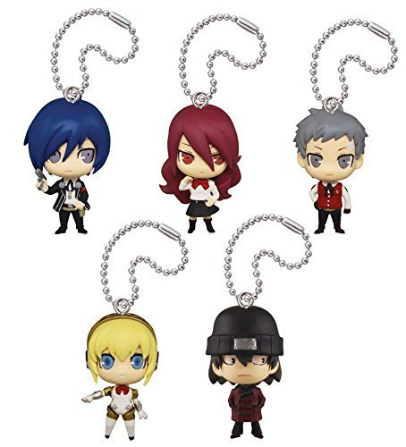 Takara Tomy DEFOME Deformation mini Persona 3 the Movie Set of 5