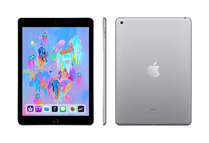 Stilig Amazon.com : Apple iPad (Wi-Fi, 128GB) - Space Gray (Latest Model) : PB-36