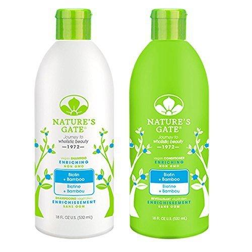 Natures Gate Strengthening Shampoo - 1