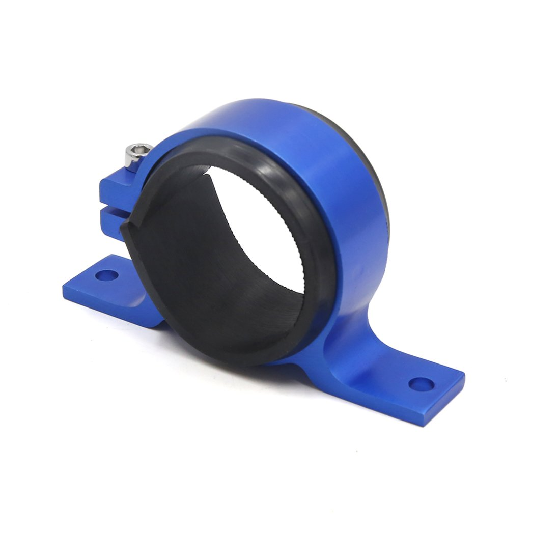 uxcell Blue Aluminum Alloy Fuel Pump Mounting Bracket Clamp Cradle for Car Automobile by uxcell (Image #2)
