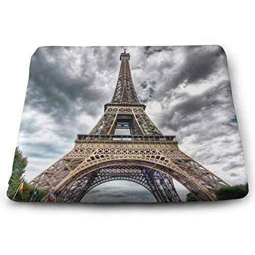 Comfortable Seat Cushion Chair Pad Paris Cloud Day Perfect Memory Foam Cushions Lighten The Bumps