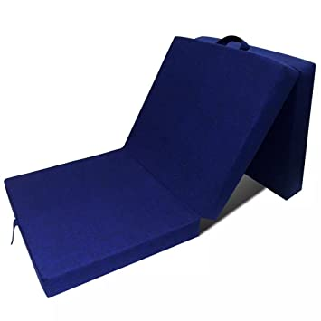 Tuduo colchón de Espuma Plegable 190 x 70 x 9 cm Azul Elegante, cómodo y Simple colchones Cuna Camas y Accesorios: Amazon.es: Hogar
