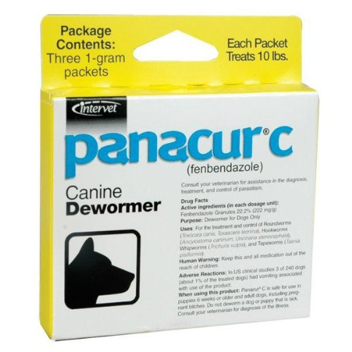 Panacur C - Dewormer for Dogs up to 10 lb