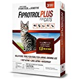 Doctors Foster + Smith Fiprotrol Topical Flea & Tick Control for Cats Over 1.5 lbs - Pack of 3 - 3 CT