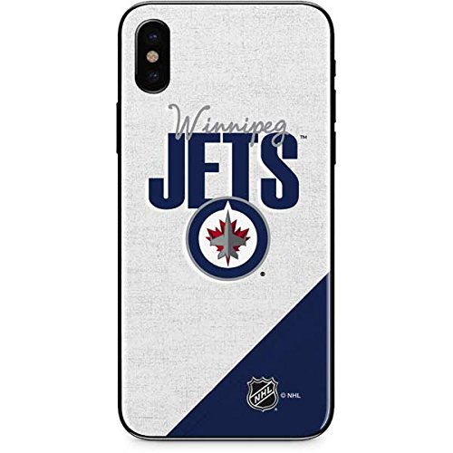 Winnipeg Jets iPhone X Skin - Winnipeg Jets Script | NHL X Skinit - Winnipeg Iphone Store
