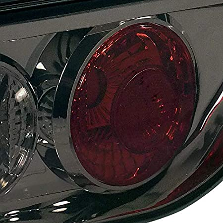 Spec-D Tuning For Nissan S13 240Sx 2Dr Hatchback Smoke Tail Lights