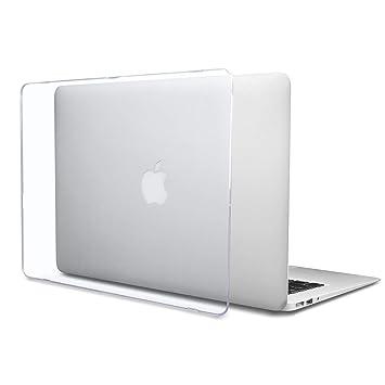 Batianda Funda Rígida Dura para MacBook Air 13 Pulgadas Cáscara Dura de Plástico Transparente (Modelo:A1466 / A1369)