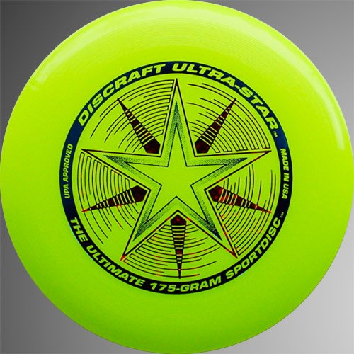 Discraft Ultra-Star 175g - Yellow by Discraft