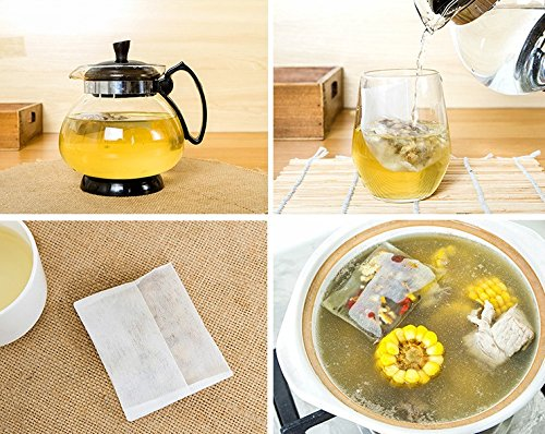 Warmtree Disposable Tea Filter Bags Spice Bags,Pack of (Ice Peak Oolong Tea)