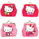 Hello Kitty Coin Purse / wallet (Hot or Light Pink) 1 of 4 Designs