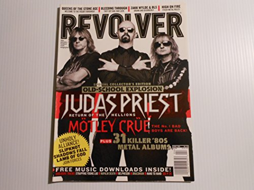 Revolver magazine no. 34 April 2005 **Judas Priest on cover**[books,magazines, (Magazine Revolver)