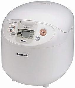 Panasonic SR-LA10N Microcomputer 5-Cup Rice Cooker, White