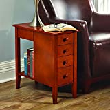 Cheap The Tight Space Storage End Table