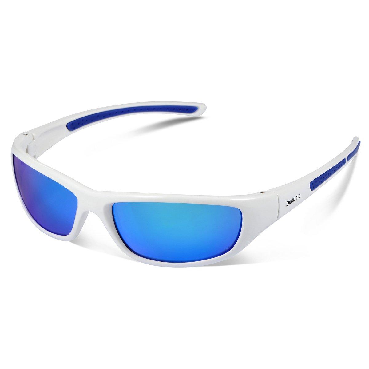 Duduma Tr8116 Polarized Sports Sunglasses for Baseball Cycling Fishing Golf Superlight Frame by Duduma