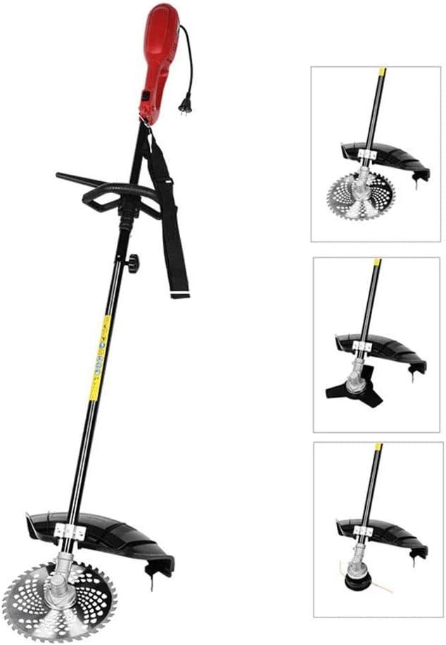 ZDW Cortadora de césped para jardín al aire libre Podadora eléctrica de alta potencia de 1200 W, cortadora de césped ligera para el hogar para setos de ramas de árboles Herramienta para el cuidado de