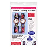 Fun Fish Flip Flop Watch Kit by Sudberry House