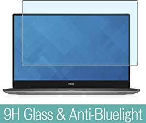 Synvy Anti Blue Light Tempered Glass Screen Protector Compatible with DELL Precision 15 5000 (5510) 15.6