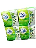 Puffs Plus Lotion Purse Packs-4 Packs -Total 16 individual packages