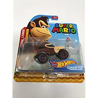 Hot Wheels Super Mario Character Cars - Donkey Kong First Appearance