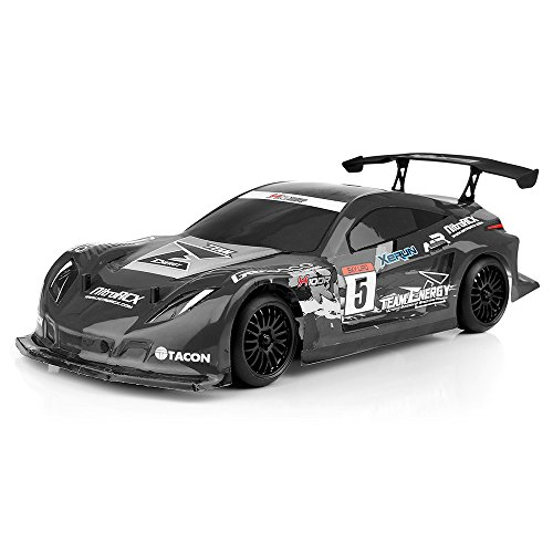 Team Energy 1/10 Scale X10TC Belt Drive Touring Car Ready to Run with Dimension GT3X AFHDS 2.4ghz 3 Channel Radio System RC Car