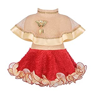 Kids Girl Dress Poncho Style Frock for Baby Girls
