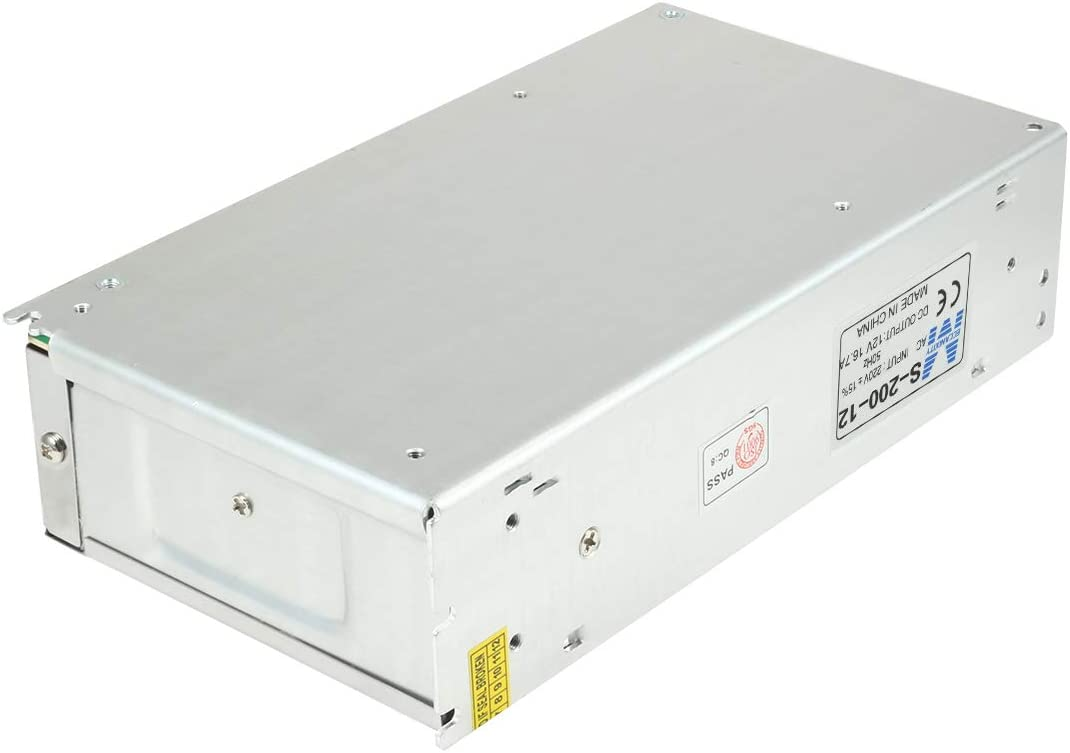 Aexit AC 220V Power supply and power module DC 12V 16.7A 200W Double Output Switch Power Supply Driver for LED Strip Light