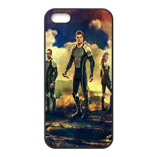 901 Catching Fire L coque iPhone 5 5S cellulaire cas coque de téléphone cas téléphone cellulaire noir couvercle EOKXLLNCD21095