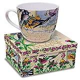 12 Oz. Wild Bird Ceramic Coffee Mug with Bible Verse Matthew 6:26 Gift Boxed