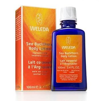 weleda sea buckthorn body lotion