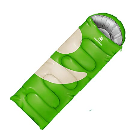 DIGUAYE ligero portátil Saco de dormir impermeable comodidad con saco de compresión Ideal para 4 temporada