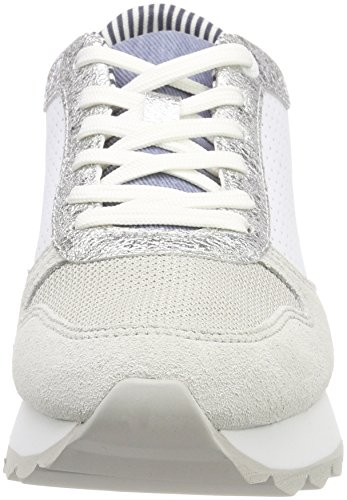 Punch Women''s top S Sneakers white Low White oliver 23668 qC4xCvp
