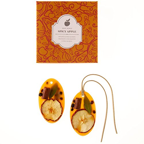 Spicy Apple Oval Wax Sachets - Set of 2