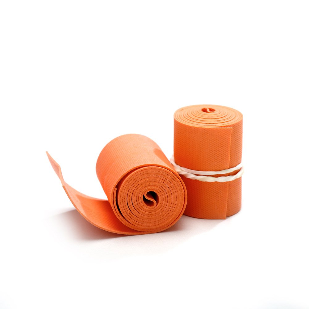 MediChoice Textured Premium Tourniquet, Rolled And Banded, 1 x 18 Inch, Orange, 1314TRN1181 (Case of 1000)
