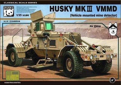 Panda hobby 1/35 classical scale series Husky Mk.III VMMD mine detection equipment with plastic PNH35014