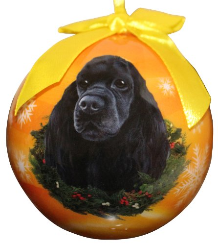 (Cocker Spaniel Christmas Ornament Shatter Proof Ball Easy To Personalize A Perfect Gift For Cocker Spaniel Lovers)