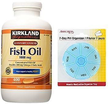 Concentrado con los ácidos grasos Omega-3, 400 cápsulas, 1000mg de aceite de