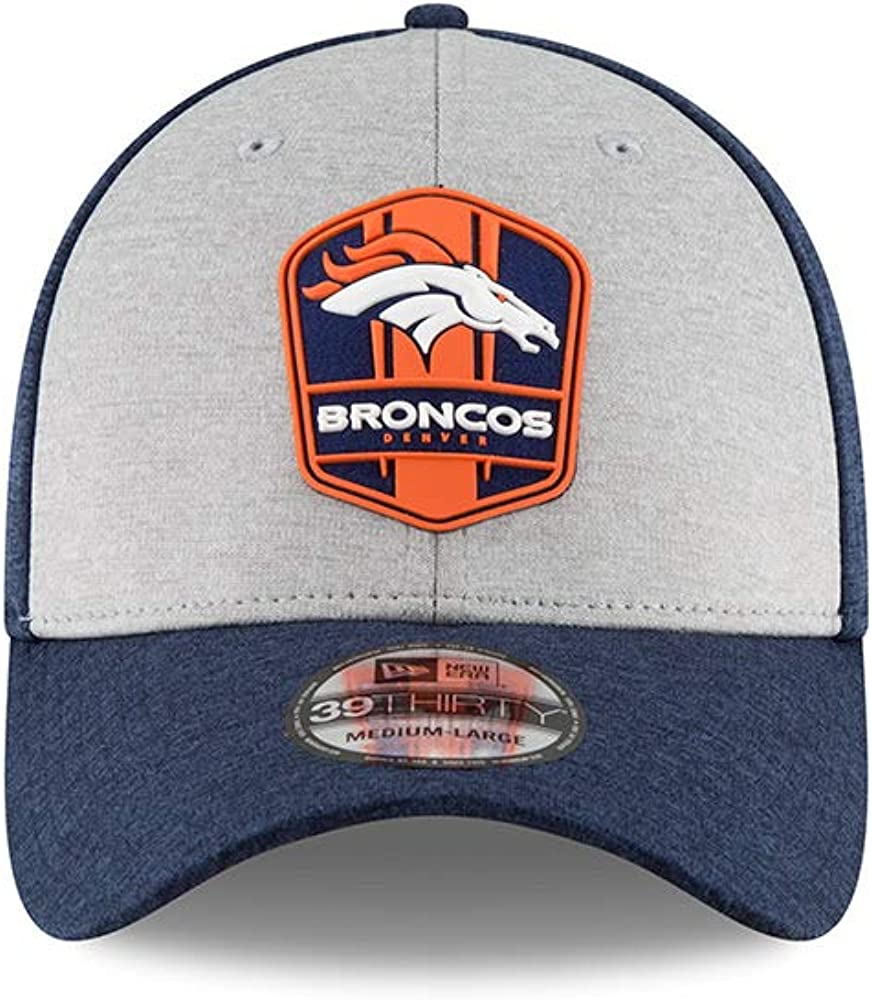 S//M New Era Denver Broncos 2018 NFL On Field Road 39THIRTY Cap Small//Medium
