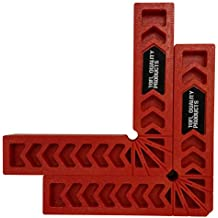 Positioning Squares, Woodworking Tool, Clamping 90 Degree Angles for Picture Frames, Boxes, Cabinets or Drawers (Set of 2) 6-Inch by TOFL