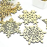 Wooden Carved - 6 Pcs Snowflake Hollow Wooden Carved Lace Coasters Table Pad Cup Mat 120x4mm Random Style Delivery - Owl Statues Buddha Plus Elephant Bear Candle Pens Knife Statue