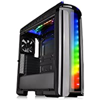 Thermaltake Versa C22 RGB Asus ROG Strix Z270E - LIQUID COOLED Intel Core i7-7700K 4.2GHz/2x SLI Nvidia GeForce GTX 1080 8GB GDDR5X/2TB + 1TB SSD/64GB DDR4/1000W/Windows 10 Custom Gaming Desktop