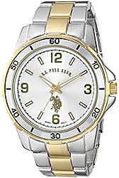 U.S. Polo Assn. Classic Men's USC80297 Two-Tone Watch